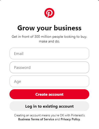 Enter Email and Password