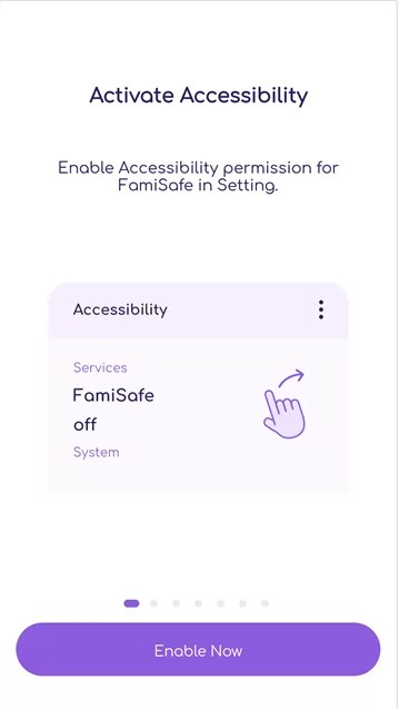 Enable FamiSafe