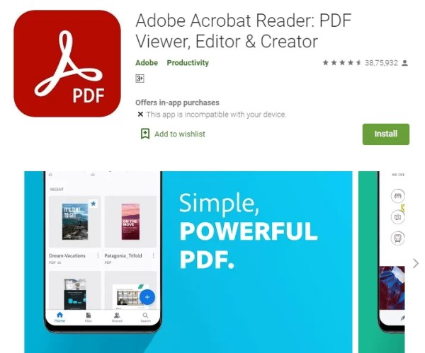 Install Adobe Reader on Chromebook