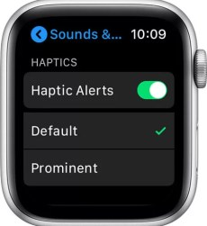 Manage Haptics to Change Notification Sound on Apple Watch