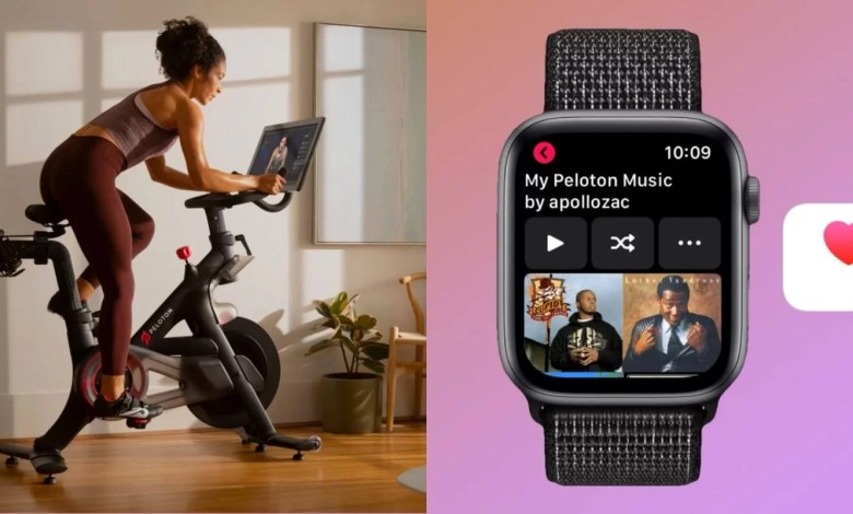 Peloton on Apple Watch