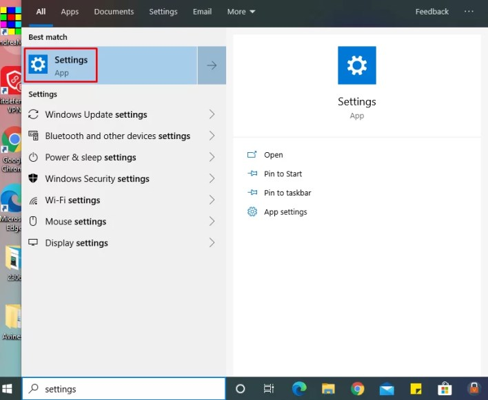 Settings to Change WiFi Password On Windows 10