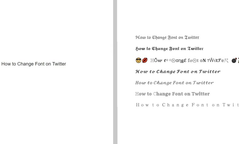 How to Change Font on Twitter