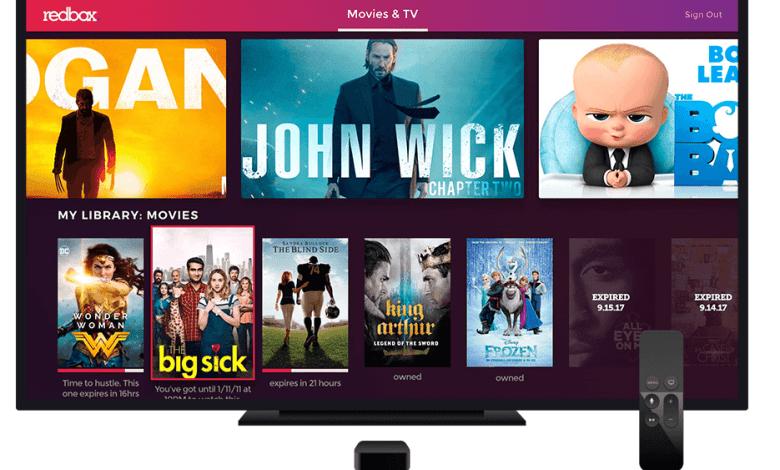 REDBOX on Apple TV