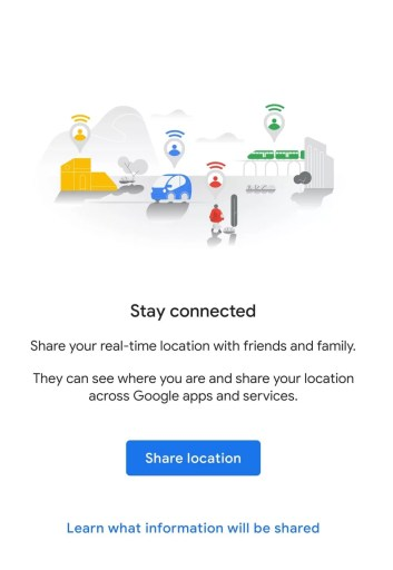 Share location