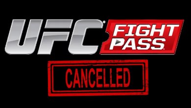 Cancel UFC Fight Pass