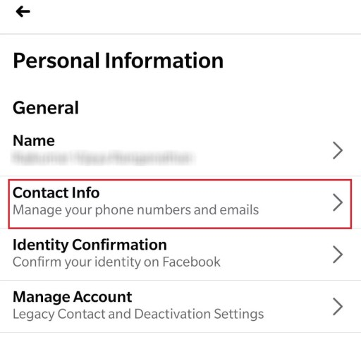 Change Email Address on Facebook