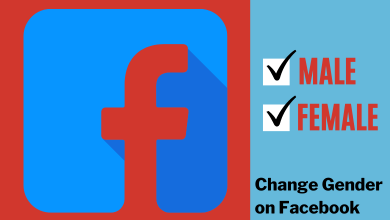 How to Change Gender on Facebook