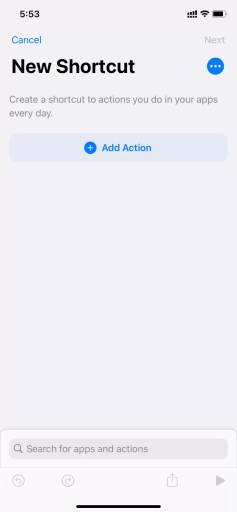 add actions - How To Change Icon On iPhone