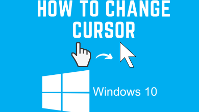 How to Change Cursor on Windows 10
