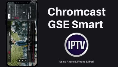How to Chromecast GSE Smart IPTV