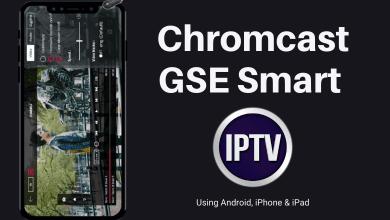 How to Chromecast GSE Smart IPTV