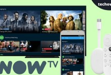 Now TV on Chromecast with Google TV