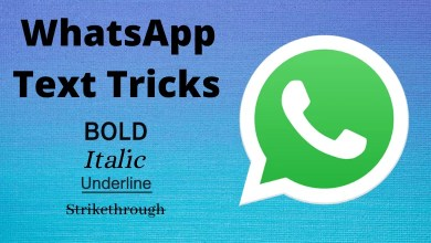 WhatsApp Text Tricks
