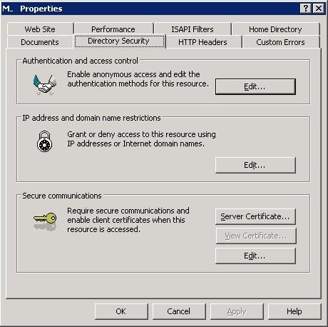 SSL IIS 3