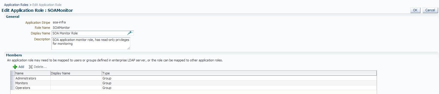 Edit Application Role Soa Monitor