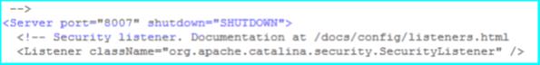 Tomcat Shutdown port for instance 2