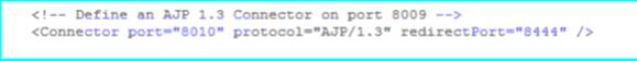 Tomcat AJP port for instance 2