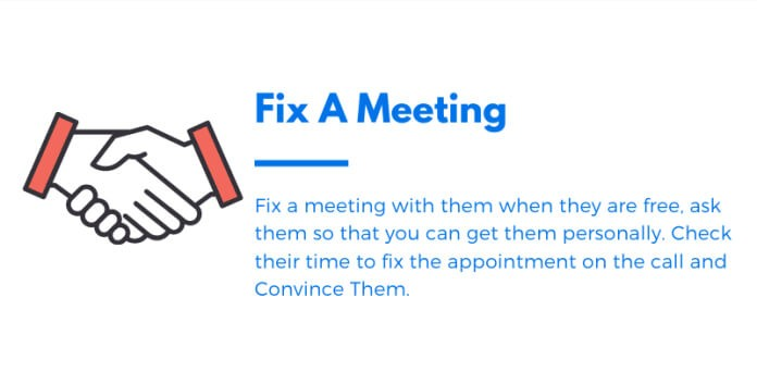 Fix a Meeting