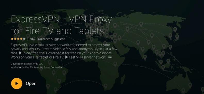 Sling TV on Firestick using VPN