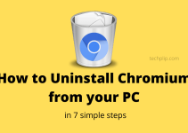 How to uninstall chromium in your PC