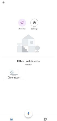 Select Chromecast Device to Restart