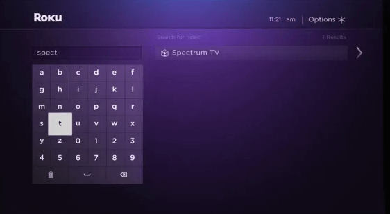 Select Spectrum TV