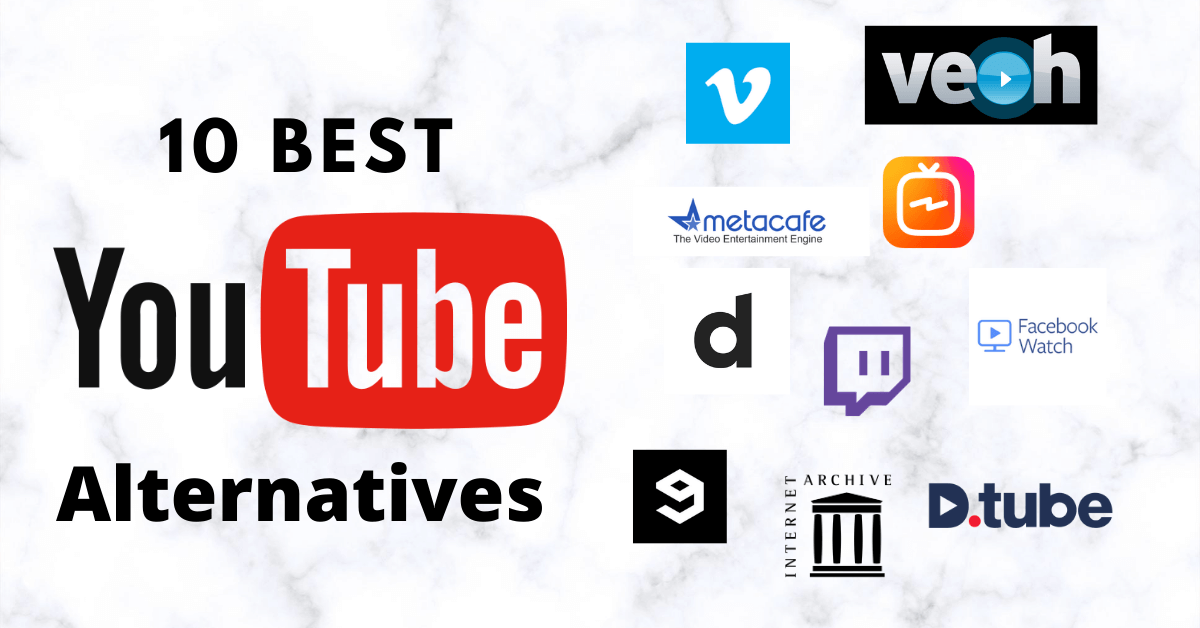 Best YouTube Alternatives to Upload & Stream Videos for Free