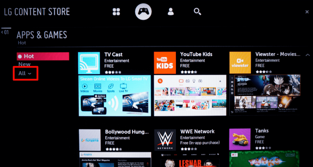 All apps - How To Update Apps On LG Smart TV?