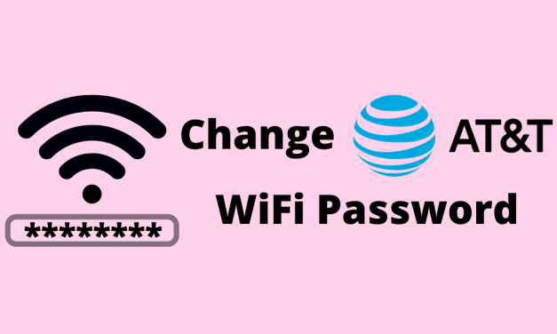 How to Change your AT&T WiFi Password