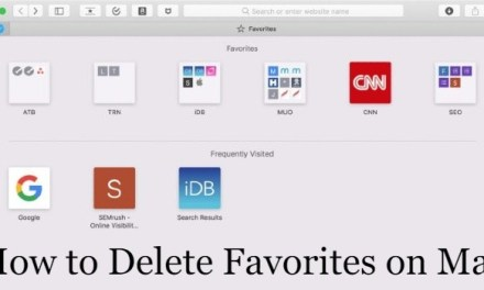 How to Delete Favorites on Mac [Step By Step Method]