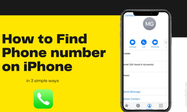 How to Find Phone number on iPhone [3 Easy Methods]