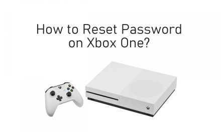 How to Reset Password on Xbox One & 360 Consoles