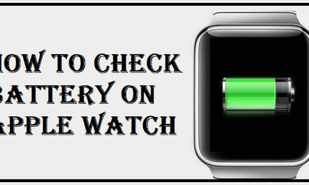 How to Check Battery Life on your Apple Watch