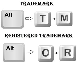 Type a Registered Trademark symbol using Compose Key Sequence
