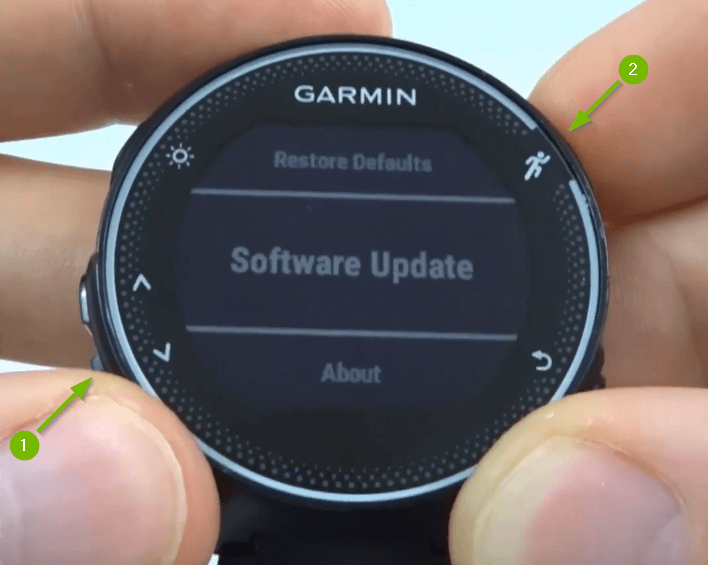 Update Garmin Watch
