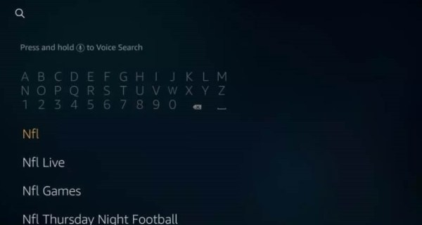 Search for NFL