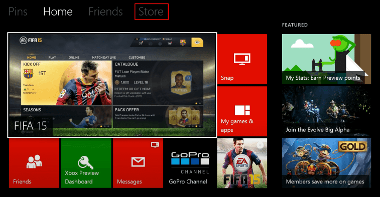 Store - Watch Prime Video on Xbox
