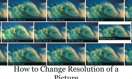 How to Change the Resolution of a Picture