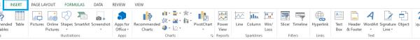 Insert Symbols on Microsoft Excel
