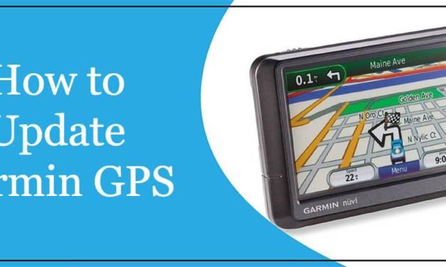 How to Update Garmin GPS (Update Garmin Nuvi Maps)