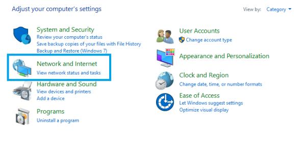 Control Panels - Delete Cookies on Windows 10