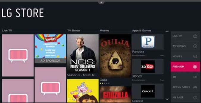 HBO GO on LG TV