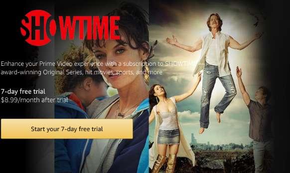 Showtime on Amazon Firestick