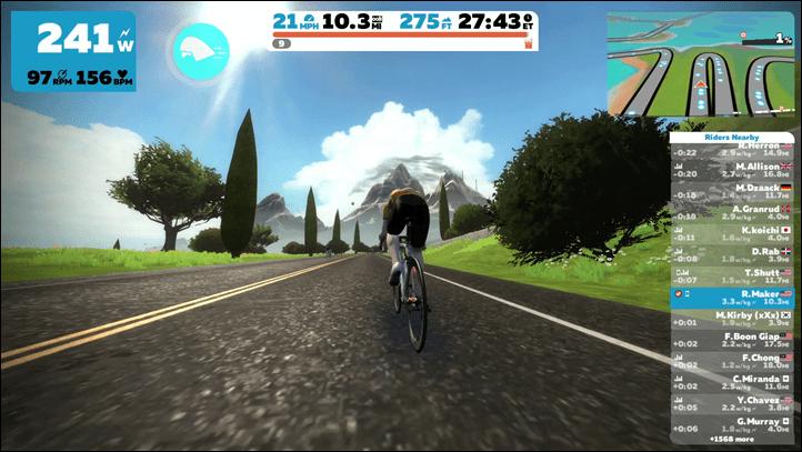 Start Riding - Zwift