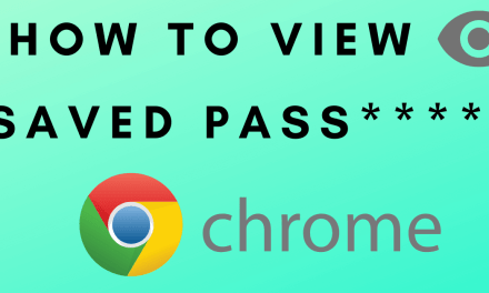 How to View and Manage Saved Passwords on Google Chrome