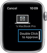 Double-click to Approve on Apple Watch