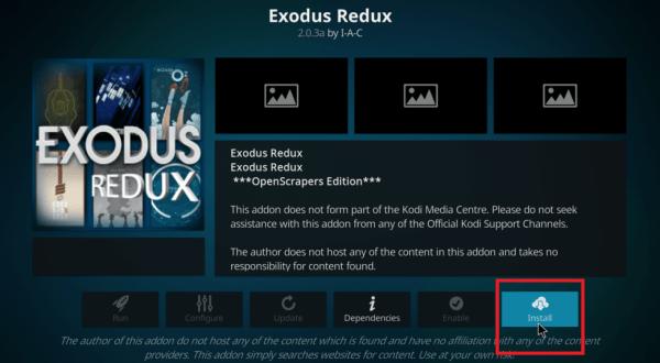 Exodus Redux Install