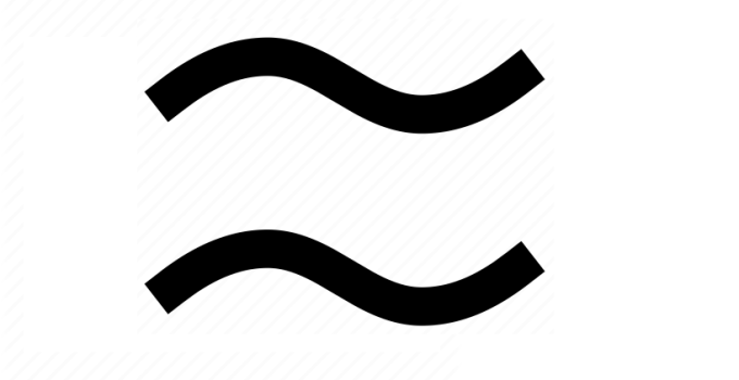 Approximate Symbol on Keyboard