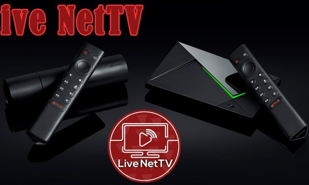 How to Get Live Net TV on Nvidia Shield TV